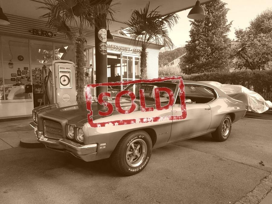 VERKAUF: Pontiac LeMans 1972 V8 mit H-Zulassung