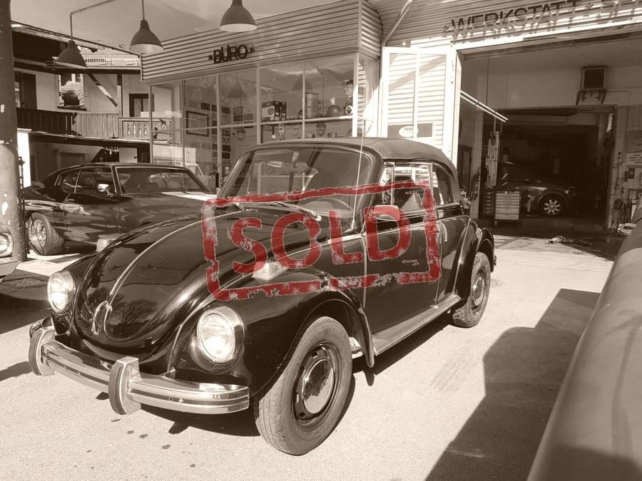 VW Cabrio 1973